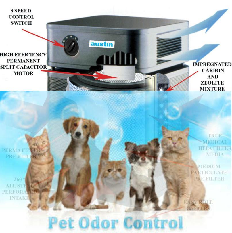 Pet-machine austin air purifier main