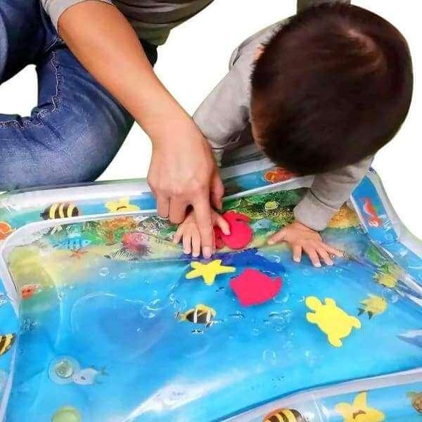 Детский игровой коврик-аквариум