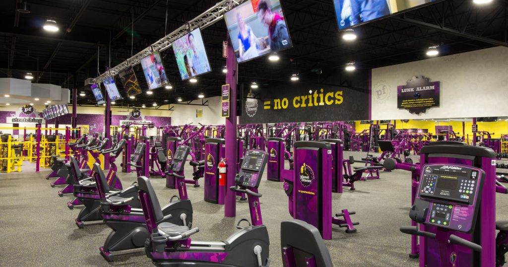 Rowing machine PlanetFitness