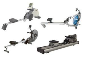 types of rowing machine