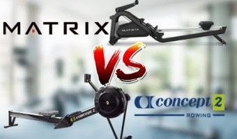 Concept 2 Rower vs Matrix