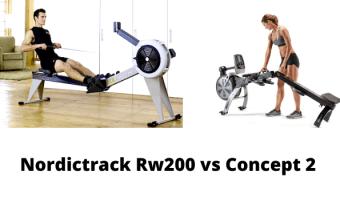 Nordictrack Rw200 vs Concept 2