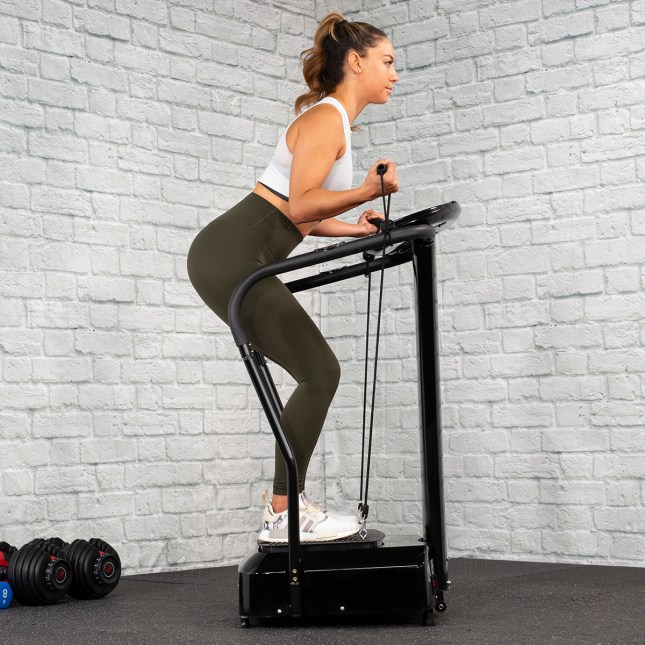 XtremepowerUS  2000W Slim Full Body Vibration Machine