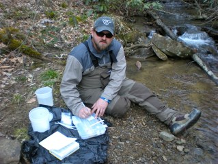 Field sampling: Damion Drover