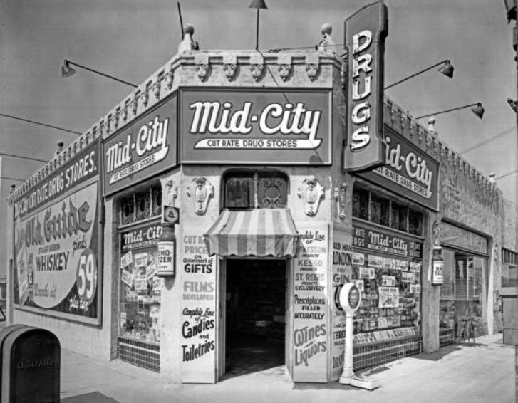 Image result for old drug stores 1920s