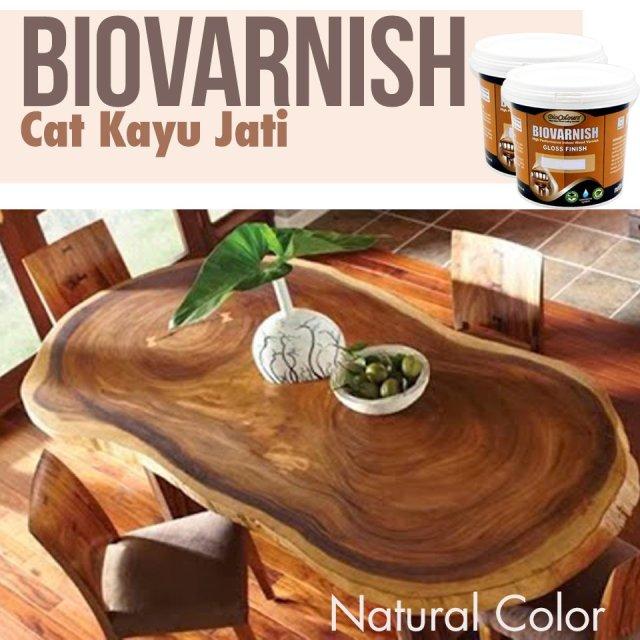 Pabrik Cat Kayu Jati BioVarnish