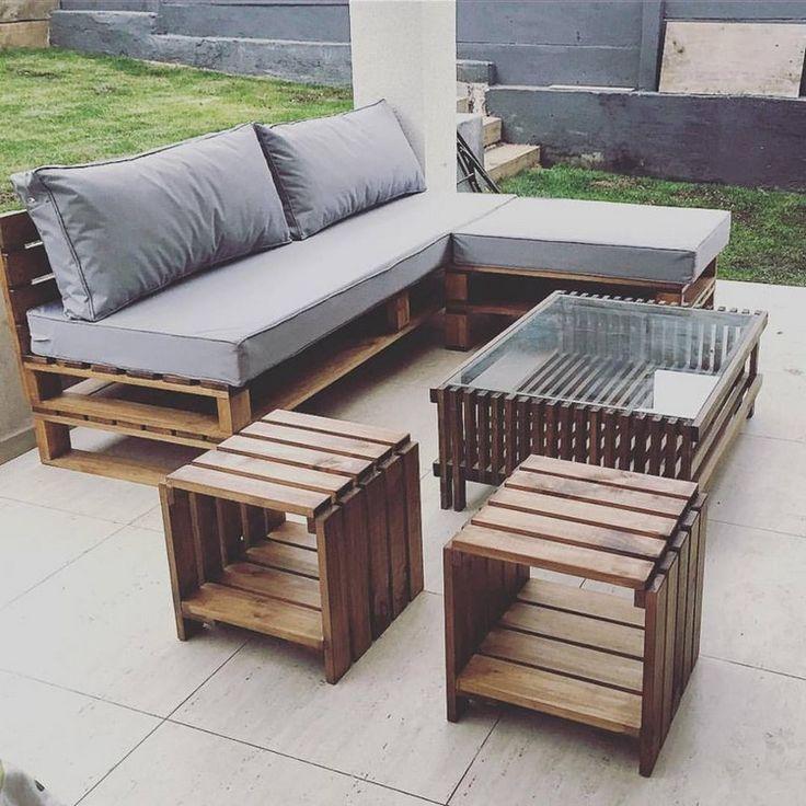 7 Ide Kreatif Furniture Keren Berbahan Kayu Palet Waterbasecoating