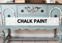 Mengecat Menggunakan Chalk Paints