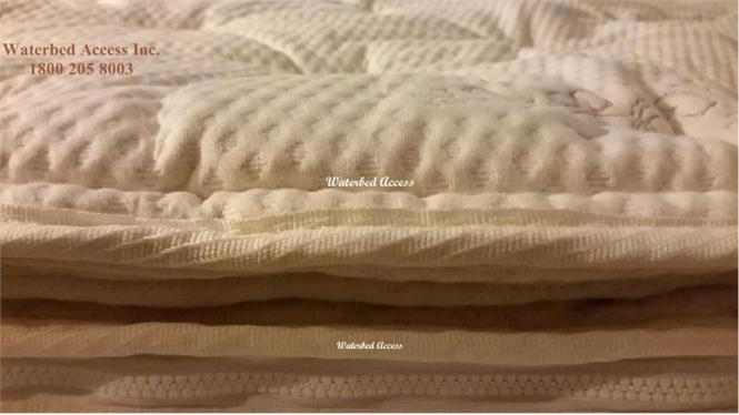 Cotton Pillowtop Cover For Softside Water Mattress