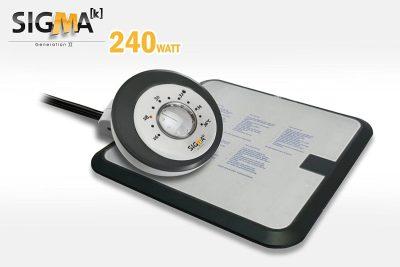 Sigma waterbed heater