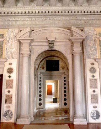 A succession of doorways in Palazzo Grimani