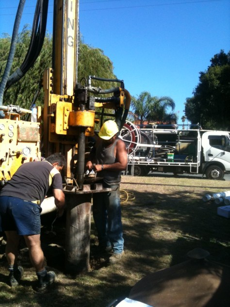 Drilling New Bore