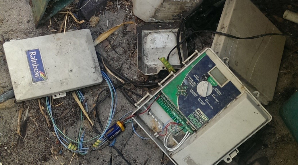Reticulation controller that needs replacing