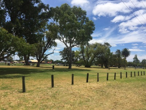 New water bore drilled opposite this park Perth suburb Parkwood