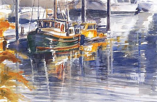 Lola Waller - original watercolors, prints, Seattle, Puget ...