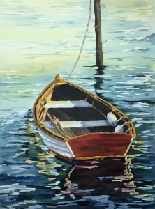 Walt T. Costilow, Tied Boat