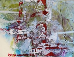 Lynne Kroll, Red Weave