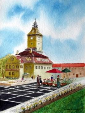 """Jacskson, G, """"Springtime in Romania"""""""