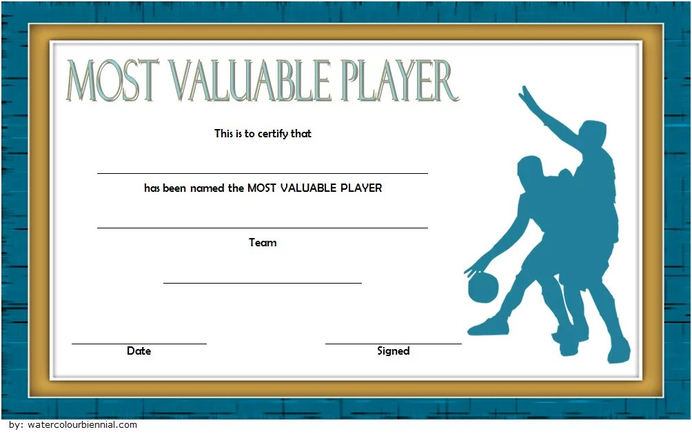 team player award wording