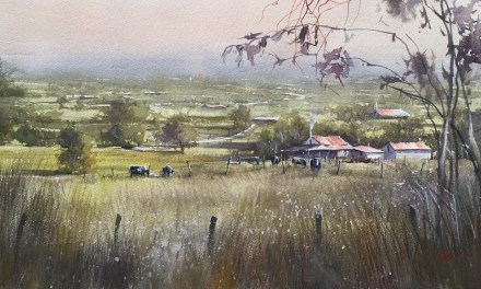 Wagin Woolarama Wins for WatercoloursWA Members