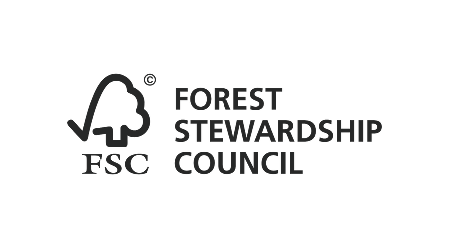 The Forest Stewardship Council logo.