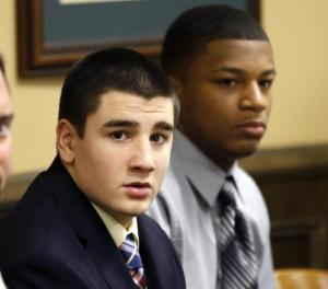 Trent Mays, 17 and Ma'lik Richmond, 16