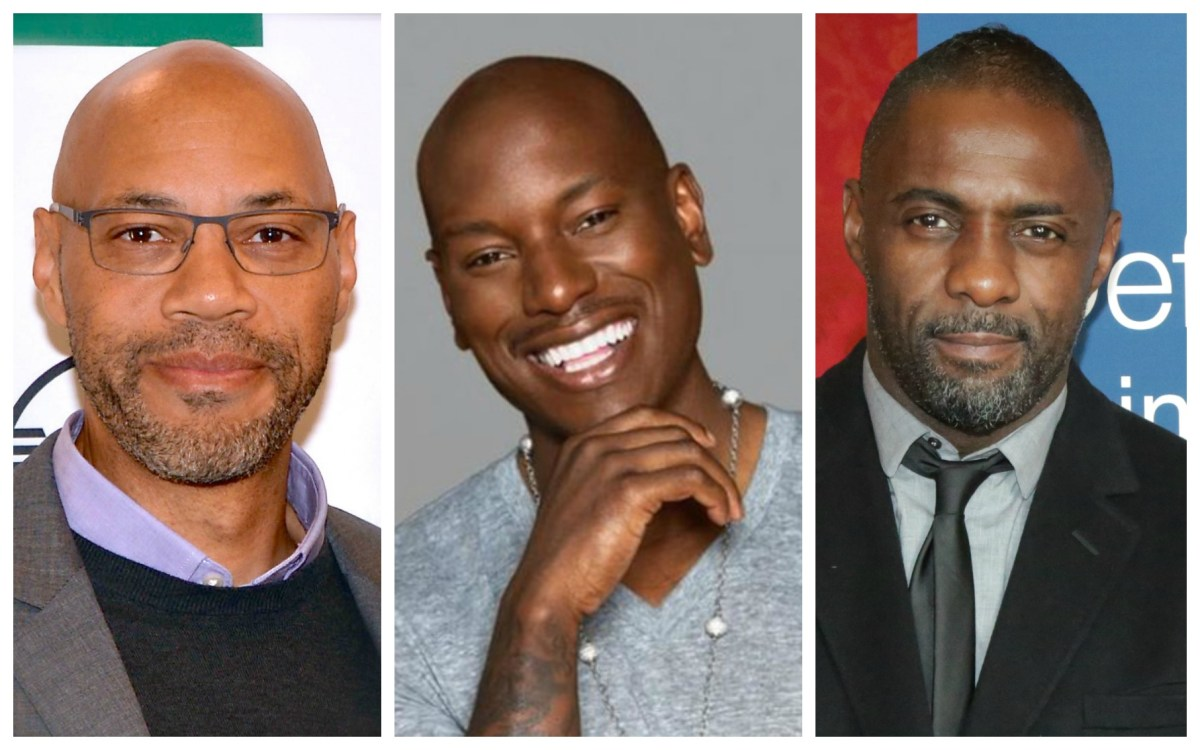John Ridley, Idris Elba, and Tyrese Gibson are all in the sunken place