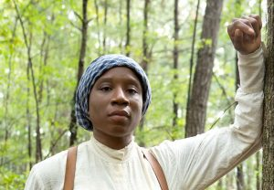 Harriet Tubman played by Aisha Hinds