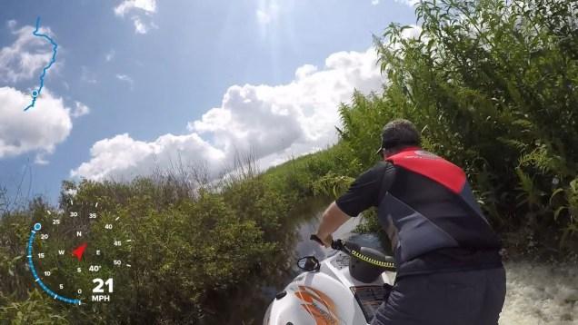 Extreme Backwater JetSkiing