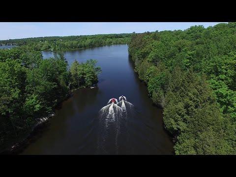Lake Manitouwabing Jet Skiing Ontario Canada