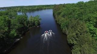 Lake Manitouwabing Jet Skiing  – Ontario, Canada