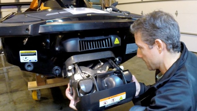 How to Remove and Install the iBR on a 4-TEC Sea-Doo (on a GTR 215)