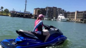 A ride From Port Aransas to Corpus Christi Texas   July 16, 2016