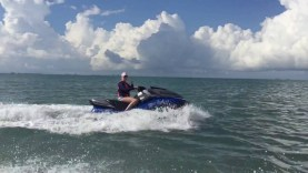 Jetski ride to Aransas Pass Texas