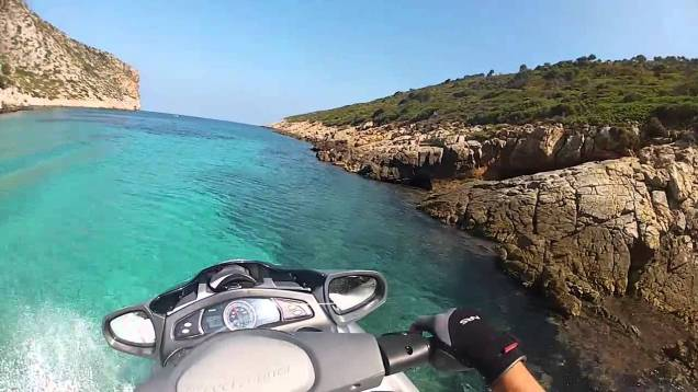 Yamaha Fx Ho Cruiser: Having fun in Greece!