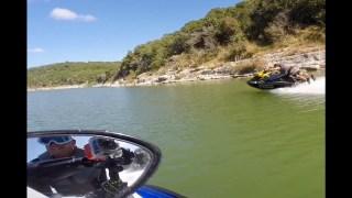 Riding upper part  of Canyon Lake Tx  SeaDoo 300,  Yamaha FZS, Yamaha VXR, Seadoo GTR