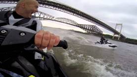 Seadoo Spark 2014 sous les ponts
