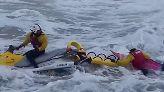 Jet Ski Rescue Portrush East Strand World Surf Kayak Championships