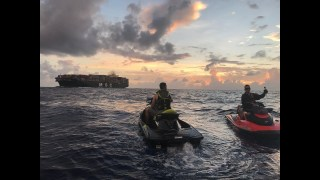 Miami to Bahamas on jet skis sea-doo's july 2017