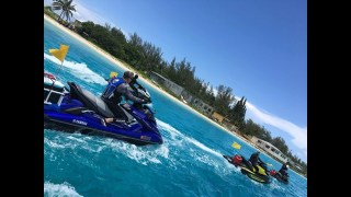 Florida Jetski:  ROUGH SEAS! –  Miami 2 Bimini Crossing 2017