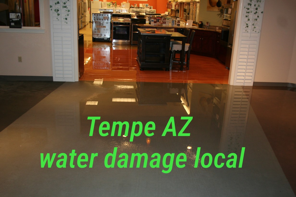 Tempe AZ Water Damage Local