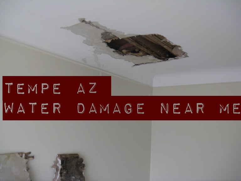 Tempe AZ water damage near me