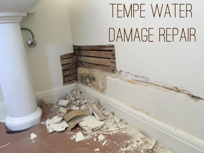 Tempe Water Damage Repair