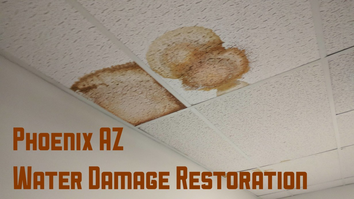Phoenix AZ Water Damage Restoration