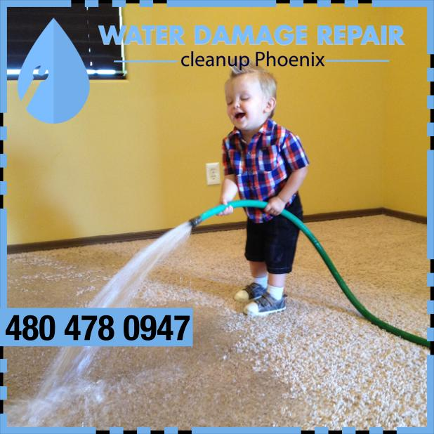 water damage phoenix AZ Commercial Restoration Company 323