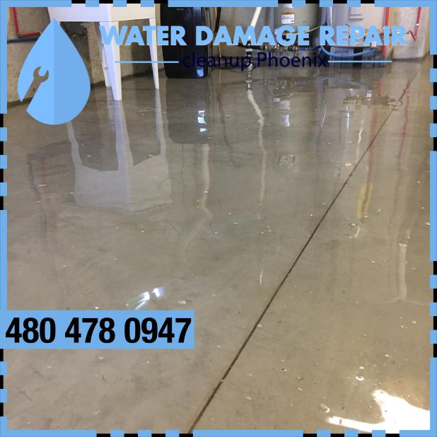 water damage phoenix AZ Commercial Restoration Company 376