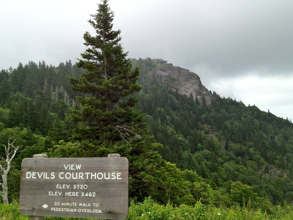 devils courthouse   Waterfalls Hiker