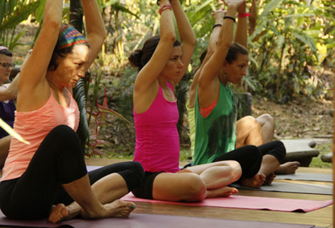 Pranayama Yoga Retreat and Meditations at Waterfall Villas