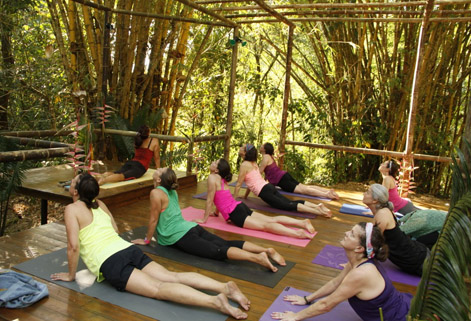 Kundalini Yoga Waterfall Villas