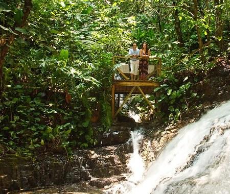 Waterfall Villas Valentine Package